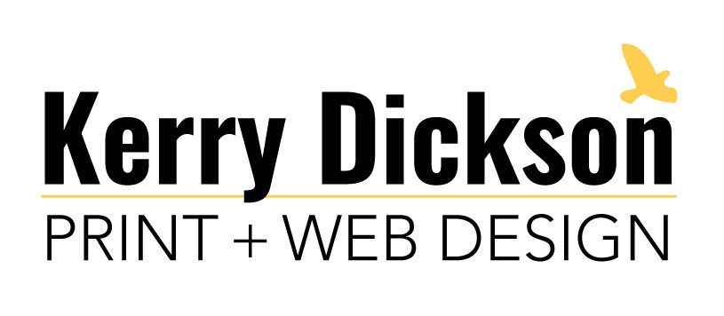 Kerry Dickson Print and Web Design
